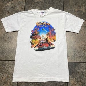 Kid's VTG 90's The Flintstones T-Shirt Size Medium